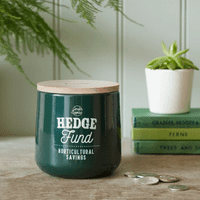 Hedge Fund Money Box - Frog green